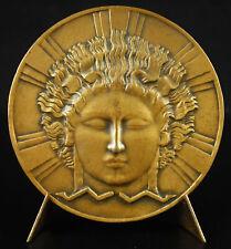 Médaille P M Dammann 1932 CPDE allégorie Art-déco électricité electricity medal
