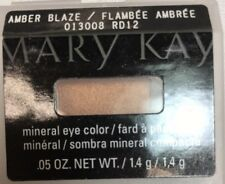 Mary Kay Mineral Eye Color Shadow, AMBER BLAZE 013008, .05 oz.