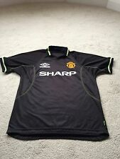 MANCHESTER UNITED Original Replica Shirt Large 1998/1999 Umbro SHARP