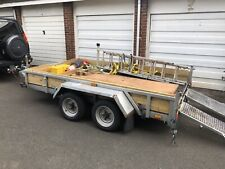 Indespension Twin Wheel 3.5 tonne Plant Trailer