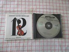 David Oistrakh Brahms Double Concerto Le Chant du Monde France No IFPI