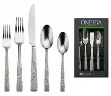 Oneida Arcana Service for 4 Stainless Flatware