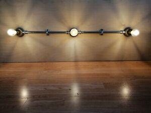 Industrial Retro Stylish Wall Designer Light Led Galvanised conduit