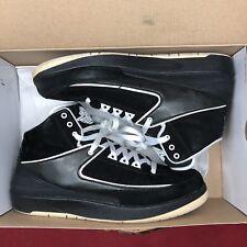 quality design 56877 606ef Nike Air Jordan Retro II QF Oreo Black White Size 10 395709 001 IV V VI