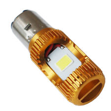 1* H6 BA20D DC12V 24V 36V LED Motor Moped/Scooter/ATV Headlight Bulb Light H/L