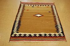 C 1920s ANTIQUE CAMEL HAIR_WOOL PERSIAN SHIRAZ QASHKAI SOFREH KILIM RUG 3.10x5.5