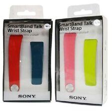 SONY SWR310 SmartBand Talk Wrist Strap for SWR30 Blue Red M/L Pink Green S/M lot