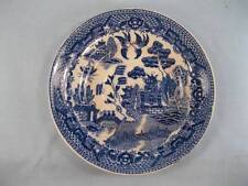 Blue Willow Saucer Without Cup Vintage Made Japan No Cup Blue & White (O)