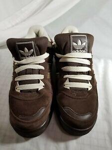 Adidas EVN 791001 Men's Brown Suede  Size 9 US EUC