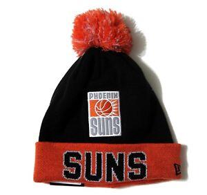 Phoenix Suns New Era Big Reflective Cuffed Beanie with Pom Knit Hat NWT