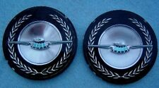 1969 T BIRD THUNDERBIRD LANDAU BAR NOS ROOF ORNAMENTS 2 DR HARDTOP