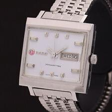 RADO Watch MANHATTAN White Dial  Automatic St.Steel Day Date   T3863