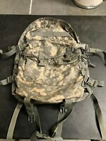 US Army Military Surplus Assault Pack BackPack ACU Digital Camo Used
