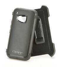 Genuine OEM Otterbox Defender HTC One M9 Holster Belt Clip Case Black Authentic