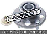Rear Wheel Hub For Honda Civic Ek1 (1995-2001)