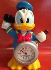 Donald Duck Talking Alarm Clock Disney Japan  - Rare