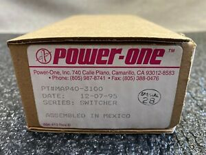 POWER ONE MAP40-3100 POWER SUPPLY