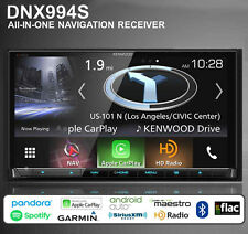 "Kenwood DNX994S 6.95"" Navigation DVD Receiver w/ Built in Bluetooth HD Radio USB"