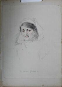 THEODORE BLAKE WIRGMAN Signed Original Sketch
