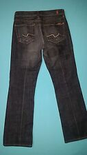 "7 For All Mankind ""Bootcut"" Women's Jeans size 26, inseam 28"