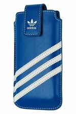 adidas iPhone SE 5 5s 5c Ultra Slim Thin Sleeve Pouch Cover Black Blue White