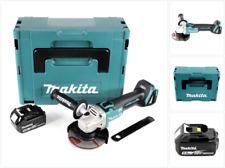 Makita DGA 504 18 V 125mm brushless Akku Winkelschleifer + MAKPAC + 1x 5 Ah Akku
