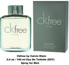 Calvin Klein CK Free 3.4 oz Men's Eau de Toilette / Cologne Spray, NEW, SEALED