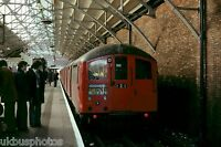 London Underground 38 Stock Edgware 14/04/78 Rail Photo