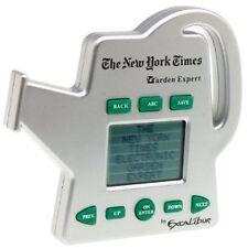 GARDEN EXPERT FLOWRS ELECTRONIC INFO GUIDE SEEDS BLOOM GARDENING EXCALIBUR NYT