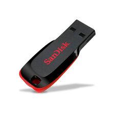 SanDisk 8Go 16Go 32Go 64Go 128Go BLADE Clé USB 2.0 Lecteur Flash Mémoire Key FR
