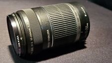Canon EF-S 55-250mm F/4-5.6 Telephoto IS Zoom Lens,  free shipping.