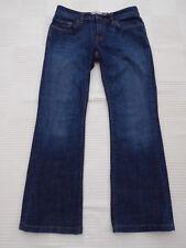 "GAP Bootcut DIST/Bleach con Jeans Stretch W 30"" i ""LG 26.5"" Taglia 10"