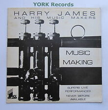 HARRY JAMES & HIS MUSIC MAKERS - Music Making - Ex LP Record First Heard FH-25