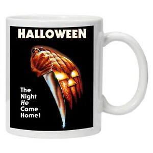 Halloween Classic Horror Movie Personalised Printed Coffee Tea Mug Cup Gift