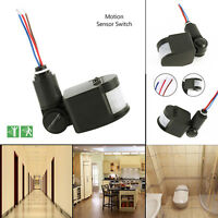 Outdoor Degree PIR Motion Movement Sensor Detector Switch For Security Lighting
