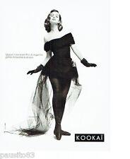 PUBLICITE ADVERTISING 056  1987  Kokai pret à porter mode