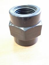 """PVC THREADED SOCKET WITH 1/2""""BSPP FEMALE THREAD (5 PACK)"""