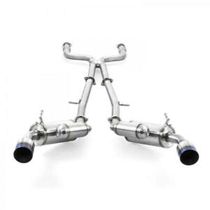 ARK GRiP Exhaust System for 2016-2021 Infiniti Q50 3.0T/Red Sport 400 - Polished