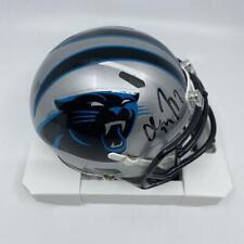 Christian McCaffrey Signed Carolina Panthers Speed Mini-Helmet