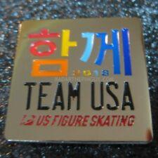 2018 PyeongChang Winter Olympic Team USA Figure Skating Pin