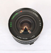 RMC Tokina 17mm f3.5 Lens for Olympus OM