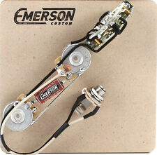 Prewired Kit T5 Nashville 5 way 500k Emerson Custom fits to Telecaster ®