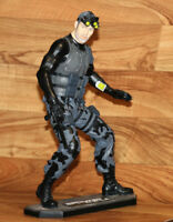 "Tom Clancy's Splinter Cell Sam Fisher Oxmox muckle 13"" Resin Statue Figure Xbox"