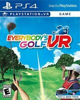 Everybody's Golf VR for PlayStation 4 [New Video Game] Playstation VR