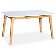 Esstisch 90 x 150 weiß Tisch Esszimmertisch Küchentisch rechteckig Küche B-Ware