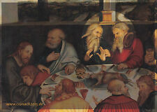 Luca Cranach Lunch at Wittenberger City Church Postcard Unused