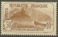 """FRANCE STAMP TIMBRE 230 """" ORPHELINS LION DE BELFORT 50c+10c """" NEUF xx LUXE B623"""