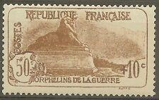 """FRANCE STAMP TIMBRE 230 """" ORPHELINS LION DE BELFORT 50c+10c """" NEUF xx TTB B405"""