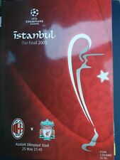 More details for 2005 champions league cup final - liverpool 🏴  v ac milan