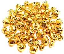 Jingle Bells 60 pieces Gold 24 x 15mm  and 36x 10mm